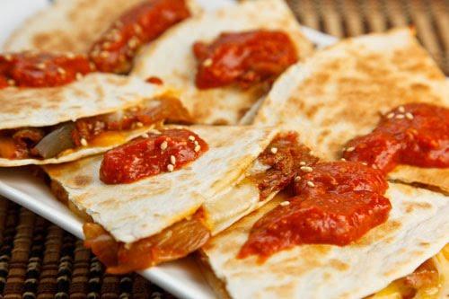 Kimchi Quesadillas 1 500
