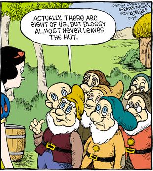 Bloggy, the lost 8th dwarf
